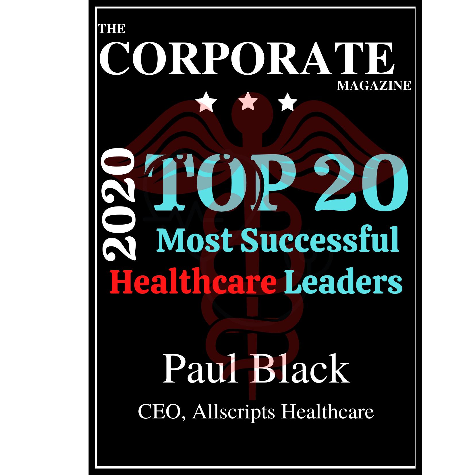 Paul Black Best Healthcare Magazine