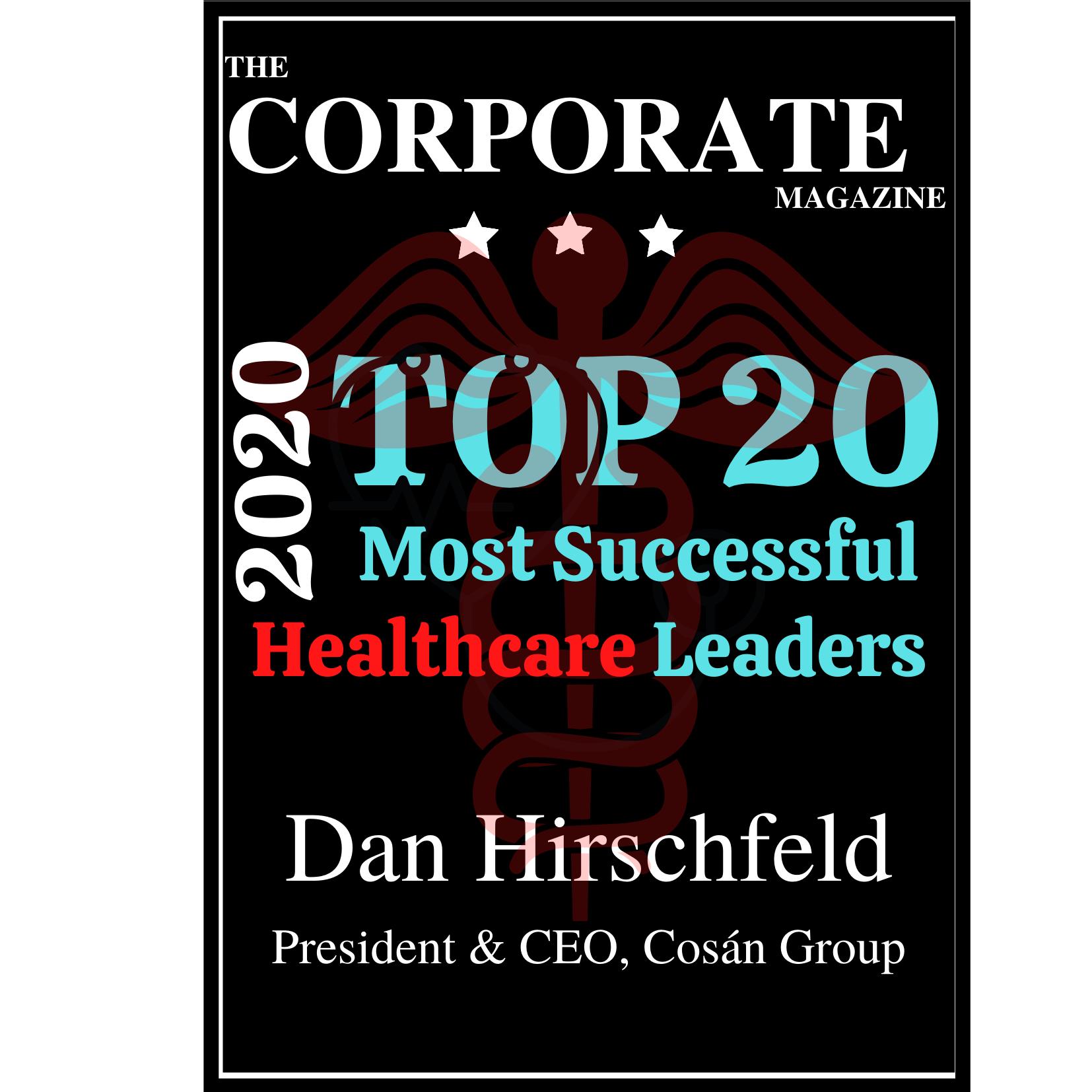 Dan Hirschfeld Best Healthcare leader