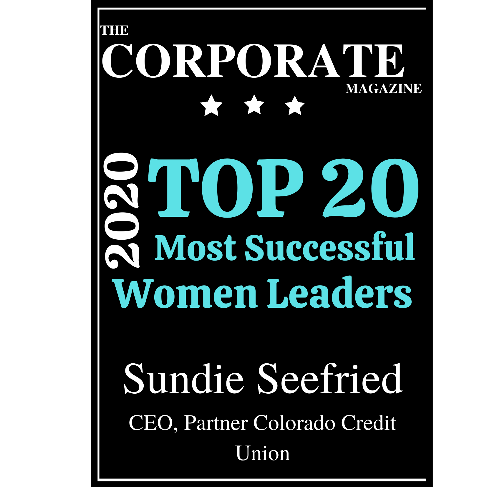 Sundie Seefried the corporate magazine