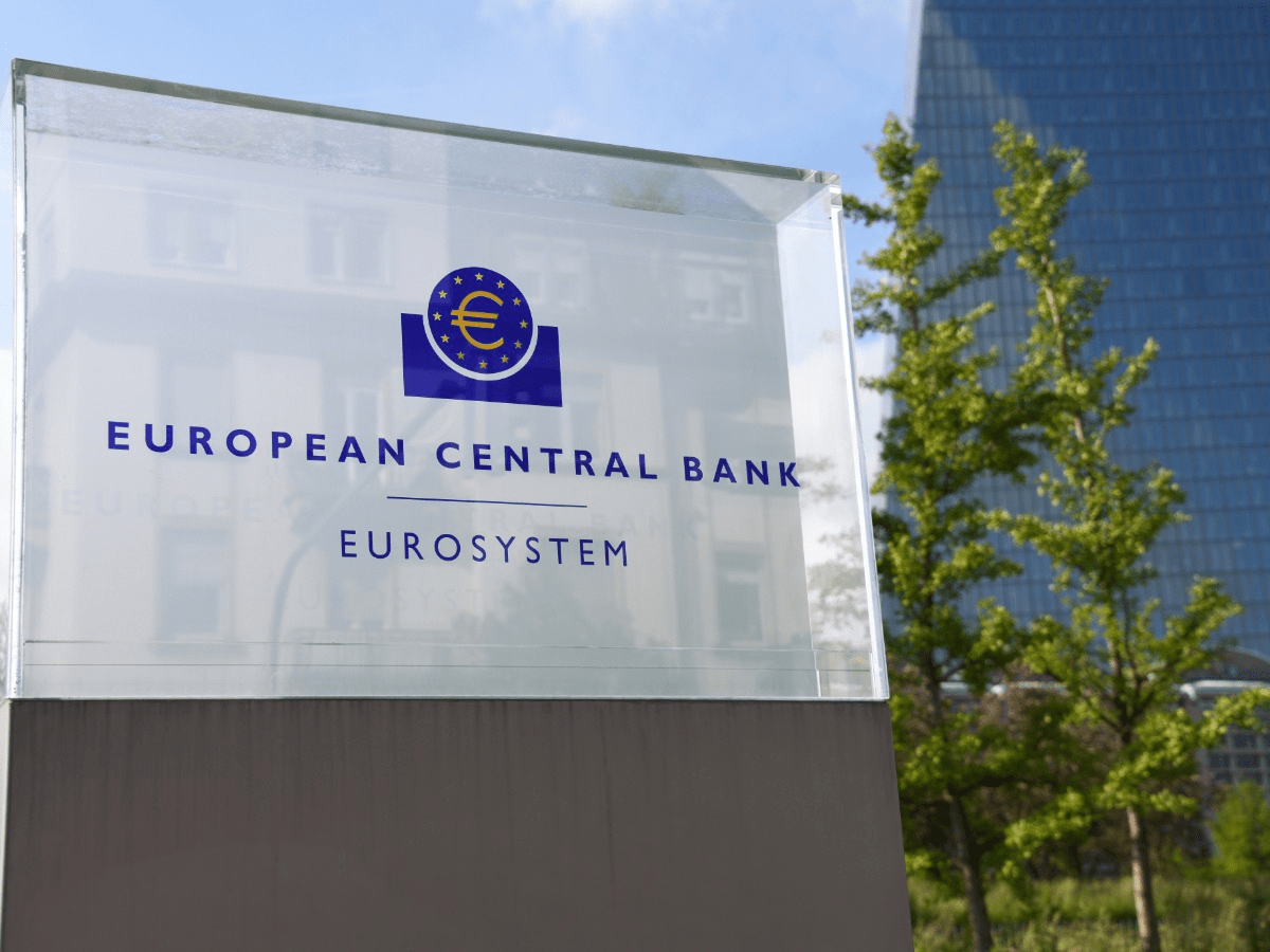 ECB avoids 'taper talk' and says that inflation will remain less than its target