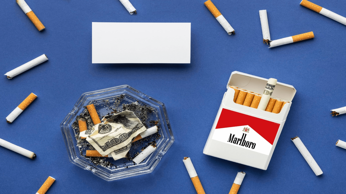 Marlboro maker Philip Morris said that it could stop selling cigarettes in Britain within ten years
