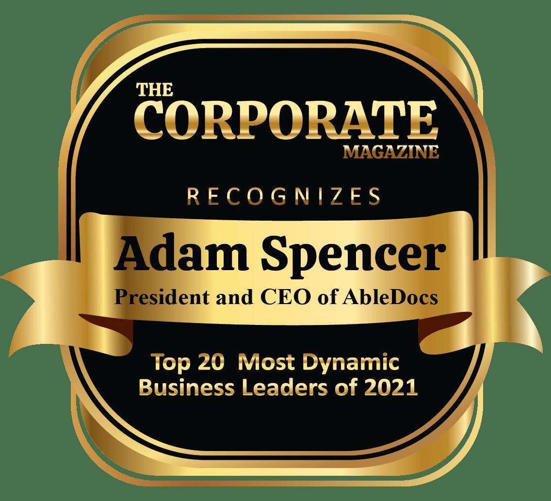 Adam Spencer award logo