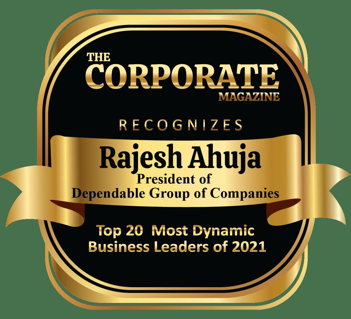 Diverse • Dedicated • Dependable | Rajesh Ahuja